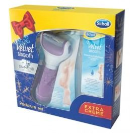 Scholl Velvet Smooth Elektrický pilník na chodidla + Noční maska 60 ml zdarma