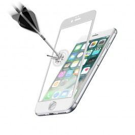 Ochranné tvrzené sklo pro celý displej Cellularline CAPSULE pro Apple iPhone 7, bílé