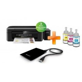 SET EPSON L386 + HDD VERBATIM 250GB