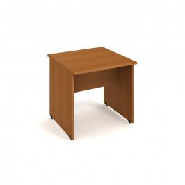 Stůl jednací rovný 80 cm - Hobis Gate GJ 800 Dekor stolové desky: třešeň, Dekor lamino podnože: třešeň