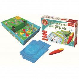 Trefl Malý objevitel Svět kolem nás kouzelná tužka edukační v krabici