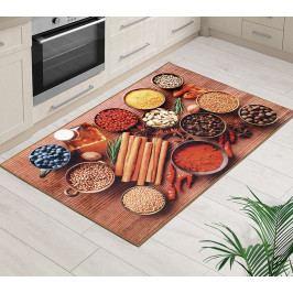 Bellatex Kusový koberec Italský stůl 3D, 80 x 120 cm