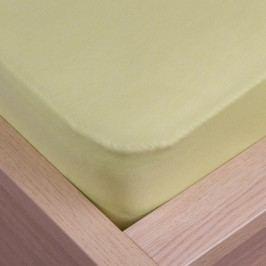 VOG Prostěradlo jersey Klasik zelená, 180 x 200 cm
