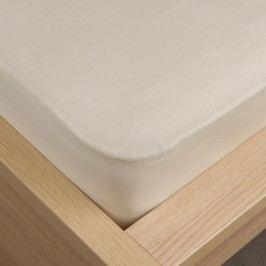 VOG Prostěradlo jersey Klasik béžová, 180 x 200 cm