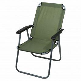 Cattara Židle kempingová skládací LYON tmavě zelená