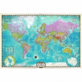 EUROGRAPHICS Puzzle Mapa světa 2000 dílků