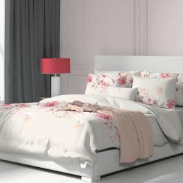Kvalitex Bavlněné povlečení Tanea růžová, 200 x 200 cm, 2 ks 70 x 90 cm