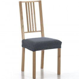 Forbyt Multielastický potah na sedák na židli Sada modrá, sada 2 ks