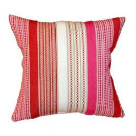 FORBYT Povlak na polštářek Stripe červená, 40 x 40 cm