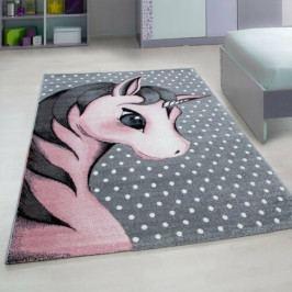 Vopi Kusový dětský koberec Kids 590 pink