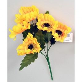 Umělá kytice Slunečnice žlutá, 37 cm