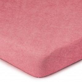 4Home Froté prostěradlo růžová, 180 x 200 cm