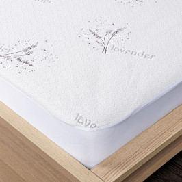 4Home Lavender Chránič matrace s lemem, 180 x 200 cm