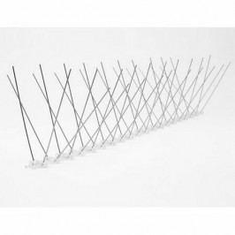 Aldo Nerezové ochranné hroty proti holubům, 50 x 12 cm