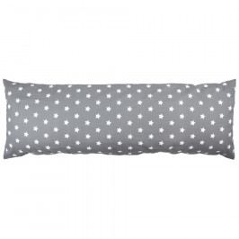 4Home povlak na Relaxační polštář Náhradní manžel Stars šedá, 45 x 120 cm