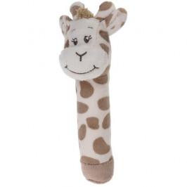 Koopman Dětské plyšové pískátko Žirafa, 16 cm