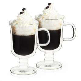 4Home Termo sklenice Irish coffee Hot&Cool 260 ml, 2 ks