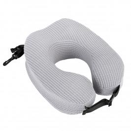 Bo-ma Cestovní polštářek Calm šedá, 28 x 22 cm