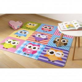 Vopi Dětský koberec Ultra Soft Sovy, 90 x 130 cm