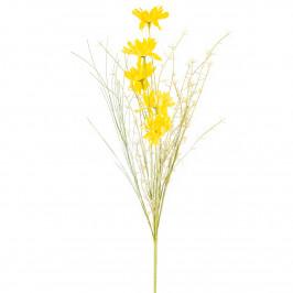 Umělé luční květy 50 cm, žlutá