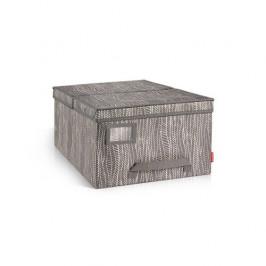 Krabice na oděvy FANCY HOME 40 x 52 x 25 cm, cappuccino