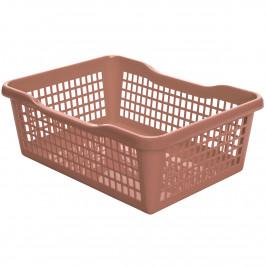 Aldo Plastový košík 24,8 x 14,7 x 7,2 cm, šedá
