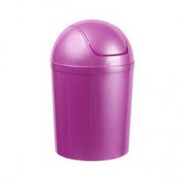 Aldo Odpadkový koš SWING TOP 5 l, fialová