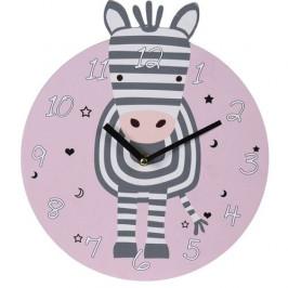 Nástěnné hodiny Zebra, pr. 28 cm