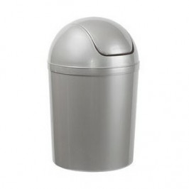 Aldo Odpadkový koš SWING TOP 15 l, stříbrná