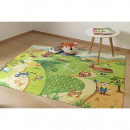 Vopi Dětský koberec Ultra Soft Farm, 90 x 130 cm