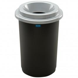 Aldo Odpadkový koš na tříděný odpad Eco Bin 50 l, stříbrná