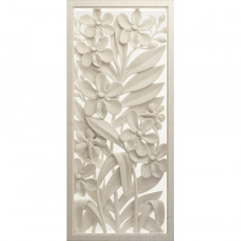 Vertikální fototapeta Clay flower, 90 x 202 cm