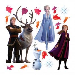 Samolepicí dekorace Frozen 2, 30 x 30 cm