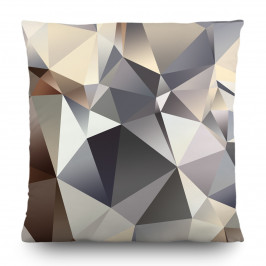 Polštářek Abstract grey, 45 x 45 cm