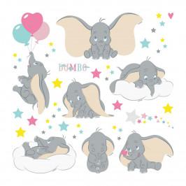 Samolepicí dekorace Dumbo, 30 x 30 cm
