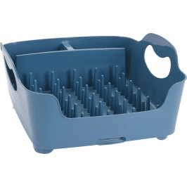 Odkapávač na nádobí, 37 x 32 x 16 cm, modrá