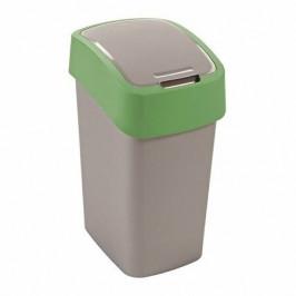 Curver Odpadkový koš FLIP BIN 10 l, zelená
