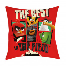 Halantex Polštářek Angry Birds Movie 2 The Field, 40 x 40 cm