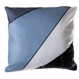 Jahu Polštářek Geometry modrá, 40 x 40 cm