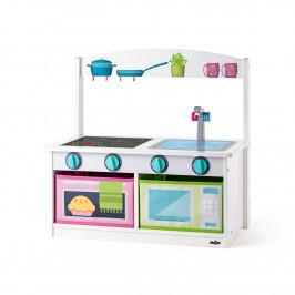 Woody Kuchyňka s lavicí 2v1, 59 x 31,5 x 58 cm