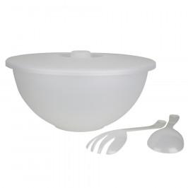 Altom Sada plastového nádobí 3 ks, bílá