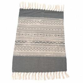 Dakls Kobercový běhoun Proužky šedá, 90 x 60 cm