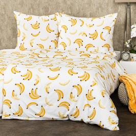 4Home Povlečení Banány micro, 160 x 200 cm, 70 x 80 cm