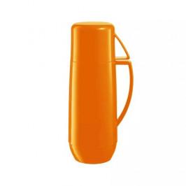 Tescoma Termoska s hrníčkem FAMILY COLORI 0,75 l, oranžová