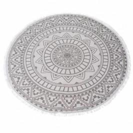 Dakls Kusový koberec Mandala modrá, 82 cm