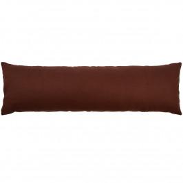 Trade Concept Povlak na Relaxační polštář Náhradní manžel UNI hnědá, 40 x 120 cm