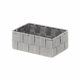 Compactor Úložný organizér do zásuvky Compactor TEX - košík M, 18 x 12 x 7 cm, šedý