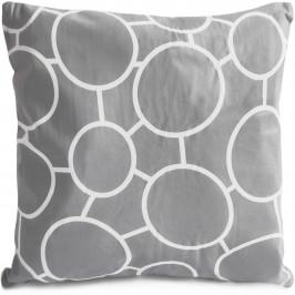 Jahu Povlak na polštářek Grey Cirkle, 40 x 40 cm