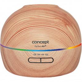 Concept ZV1005 Zvlhčovač vzduch saromadifuzérem 2v1 Perfect air Wood, světlé dřevo