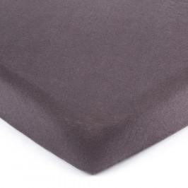 4Home jersey prostěradlo tmavě šedá, 140 x 200 cm